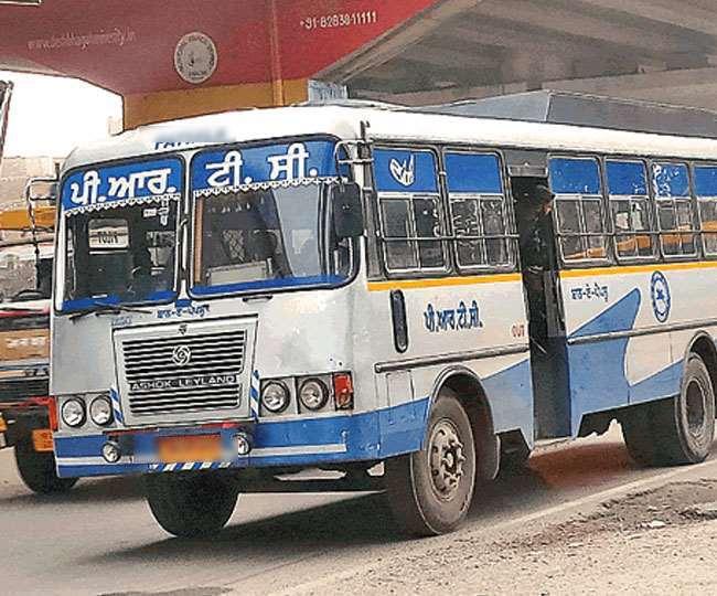 करनाल में पंजाब बस में बैठी मां बेटी से छिनैती।