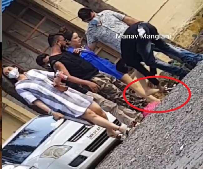 Shehnaaz Gill Viral Video : स्टाफ मेंबर से सेंडल उतरवाने पर ट्रोल हुईं Shehnaaz , यहां देखें वीडियो