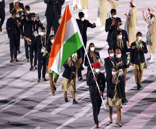 Tokyo Olympics opening ceremony: खेलों का महाकुंभ शुरू, मनप्रीत सिंह व मेरी काम ने की भारतीय दल की अगुवाई