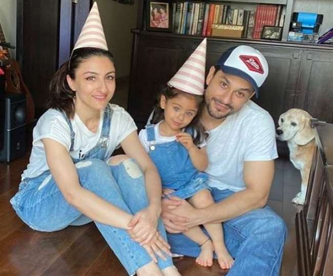 Before the delivery of Kareena Kapoor Khan, Soha Ali Khan welcomes a new member in her family. Watch Video