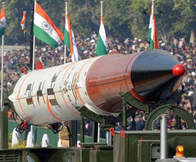 भारत द्वारा विकसित पांच मिसाइलें -पृथ्वी, अग्नि, आकाश, त्रिशूल और नाग हैं