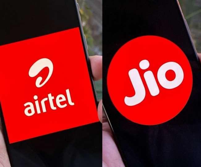 यह jio और Airtel की प्रतीकात्मक फाइल फोटो है।