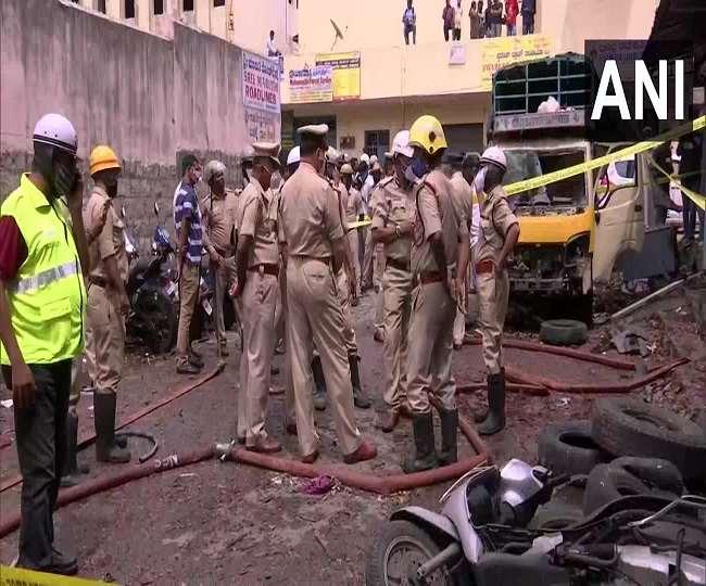 यह घटना बेंगलुरु के न्यू थारागुपेट इलाके की है