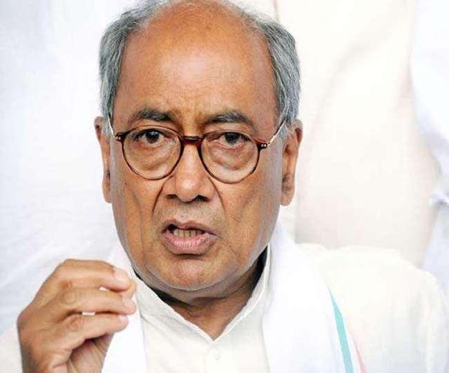 मध्य प्रदेश के पूर्व मुख्यमंत्री व कांग्रेस के वरिष्ठ नेता दिग्विजय सिंह की फाइल फोटो।