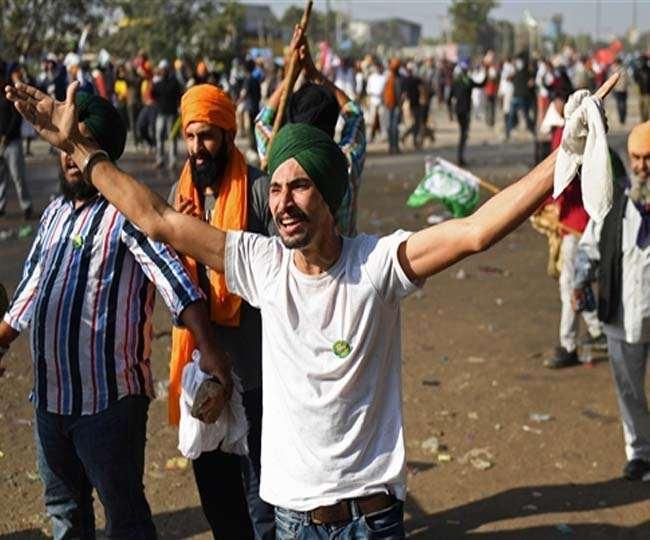 किसान संगठनों के आंदोलन के कारण हरियाणा से दिल्ली जाने का मुख्य मार्ग अवरूद्ध है। (फाइल फोटो)