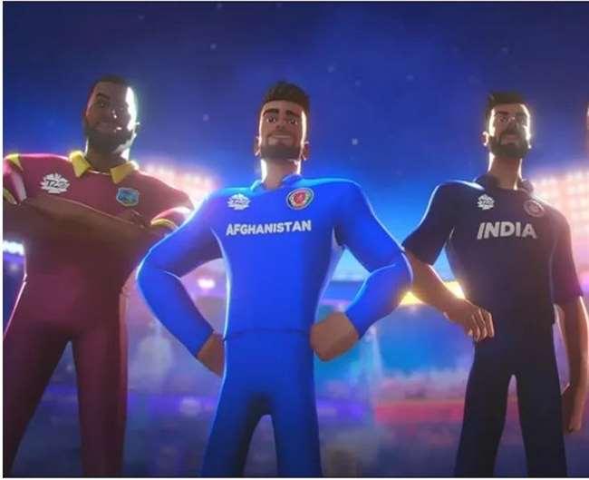 ICC T20 World Cup 2021 Anthem Video रिलीज(फोटो ट्विटर पेज)