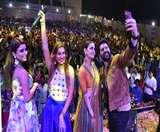 जागरण डांडिया नाइट में आफताब शिवदासानी, दीया मिर्जा और जसलीन के साथ ग्रैंड मस्ती Patna News