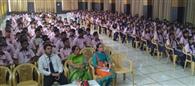 काउंसिलिग सेशन में विद्यार्थियों को दी जानकारी