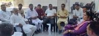 नरवाना से कांग्रेस प्रत्याशी विद्यारानी ने कार्यकर्ताओं संग की बैठक