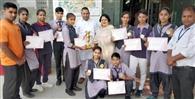 कबड्डी में हरे कृष्णा स्कूल की टीम ने जीता सिल्वर मेडल
