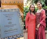 Alia Ranbir Wedding Card: शादी कार्ड वायरल होने पर आलिया की मां सोनी राज़दान ने दिया ये रिएक्शन