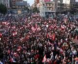 लेबनान में 6 दिनों से जारी है सरकार विरोधी प्रदर्शन, लोगों ने प्रधानमंत्री के इस्तीफे की मांग की