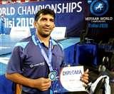 पांच साल बाद मैट पर उतर पूर्व सूबेदार ने विश्व कुश्ती चैंपियनशिप में जीता सिल्वर