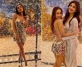 Malaika Arora Birthday Party Photos : इस शॉर्ट ड्रेस में मलाइका ने अपनी पार्टी में बिखेरा जलवा, देखें तस्वीरें