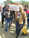 राजकीय सम्मान के साथ सूबेदार रजनेश को दी अंतिम विदाई