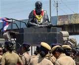 तमिलनाडु में ईवी रामासमय पेरियार की प्रतिमा तोड़ी, हरकत में पुलिस, कठोर कार्रवाई की चेतावनी दी