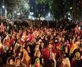 CAA Delhi Protest : साकेत के हौज रानी इलाके में बने शाहीन बाग जैसे हालात, रात तक होता है प्रदर्शन