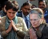 रूठी अमेठी में सोनिया भी अनमनी, राहुल की हार के बाद पहले दौरे पर कहीं ठहराव न अभिवादन