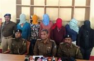 पुलिस पर बमबाजी का आरोपित समेत छह गिरफ्तार