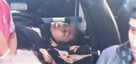 स्कूल बस की ठोकर से इंटर छात्रा की मौत