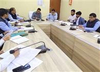 केसीसी आवेदन में सुस्ती पर अफसरों व बैंक प्रतिनिधियों की क्लास