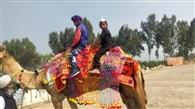 पैराडाइज किड्स बोनांजा समागम में बच्चों ने ऊंट सवारी का लिया आनंद