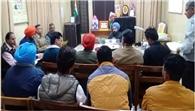 एडीसी ने अधिकारियों से की समीक्षा बैठक
