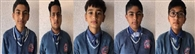 लोटस इंटरनेशनल के बच्चे सैनिक स्कूल की परीक्षा में सफल