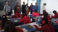 शिक्षा उप सचिव ने परीक्षा उप केंद्रों का किया निरीक्षण