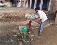 उथले हैंडपंपों का पानी होगा प्रतिबंधित