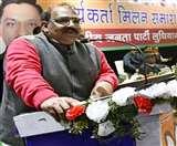 अश्विनी शर्मा ने कहा- मनमोहन सरकार के समय की अराजकता खत्म कर रहे मोदी