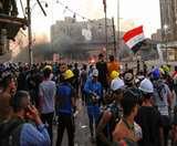 इराक में फिर भड़की हिंसा, सुरक्षा बल की फायरिंग में एक की मौत, छह घायल