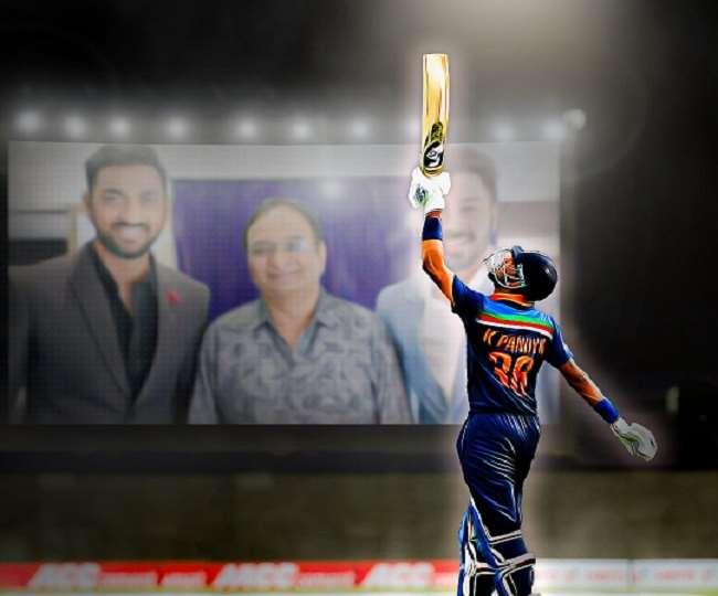 Emotional Moment For Hardik And Krunal Pandya: बड़े भाई Krunal Pandya को हार्दिक ने कहा, 'पापा को तुम्हारे ऊपर गर्व हुआ होगा'