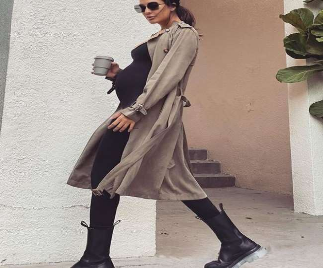IN PICS Lisa Haydon reveals how it took three pregnancies to figure out how to dress baby bump