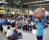 कोरोना संकट के बीच MP में लगभग 30 लाख मजदूर लौटेंगे, पलायन रोकने के लिए पूछी जा रही योजना