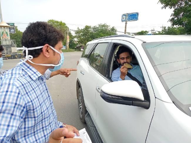 Without Mask Chalan in Samalkhan - Haryana Panipat <a href=
