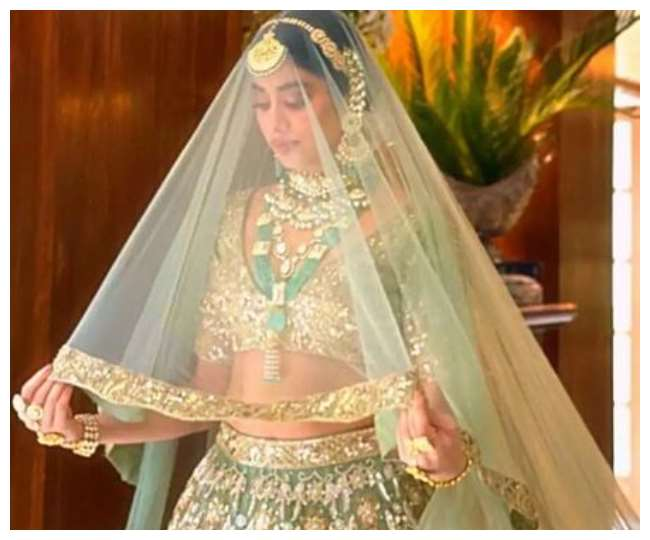 Janhvi Kapoor recent magazine shoot as a bride