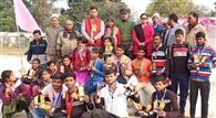 क्रीड़ा प्रतियोगिता में विजेताओं को किया गया पुरस्कृत