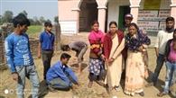 गणतंत्र दिवस को ले चलाया गया स्वच्छता अभियान