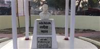सूनी रह गई शहीद सतीश की गलियां, भतीजे ने किया माल्यार्पण