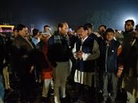 मुख्यमंत्री के कार्यक्रम को मंत्रियों और अफसरों ने परखे इंतजाम