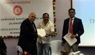 रेलवे के जीएम को सौंपा मांगपत्र