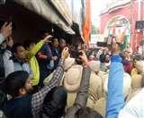 CAA के खिलाफ पंजाब बंद बेअसर,हाेशियारपुर में बंद समर्थक व विरोधी आमने-सामने आए