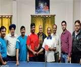 एनएमएल के वैज्ञानिकों-अधिकारियों ने टेबल टेनिस पर आजमाए हाथ Jamshedpur News