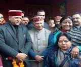 भाजपा प्रदेशाध्यक्ष राजीव बिंदल की शांता कुमार के साथ बंद कमरे में एक घंटे तक मंत्रणा, बताया रोडमैप