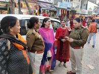 दुर्गा शक्ति एप से एक हजार महिलाओं का सुरक्षा घेरा मजबूत
