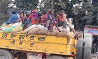 मोटी कमाई के चक्कर में यातायात नियमों का उल्लंघन