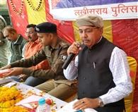 बहादुरपुर गांव को एसपी ने लिया गोद