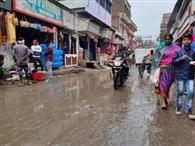 जिले में आठ मिलीमीटर हुई बारिश, आज भी संभावना