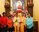 मॉरीशस के राष्ट्रपति पहुंचे बिहार, बोधगया में की पूजा-अर्चना; कहा- बिहार से है खून का रिश्ता